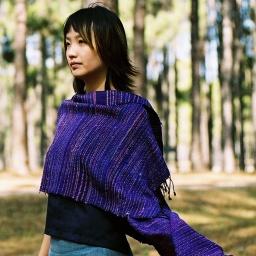Juree scarf purple 1