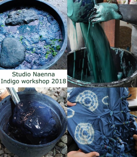 Indigo workshop poster 2018
